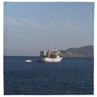Greek Fishing Boat Napkin