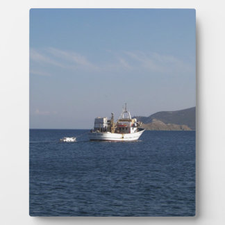 Greek Fishing Boat Plaque