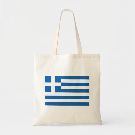 Greek flag custom tote bag party favour gift