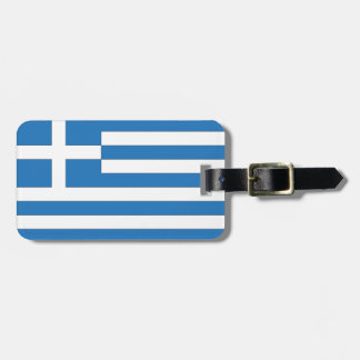 Greek Flag, Flag of Greece Luggage Tag