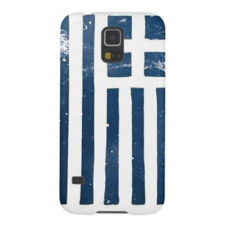 greek flag grunge stencil galaxy s5 case