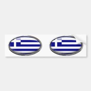 greek flag bumper stickers car stickers zazzle uk