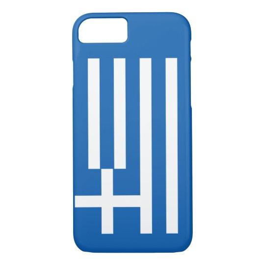 Greek Flag iPhone 7 Case