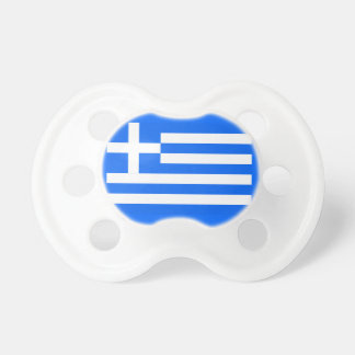 Greek flag pacifier