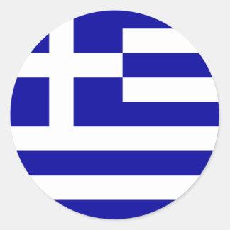 Greek Flag Sticker