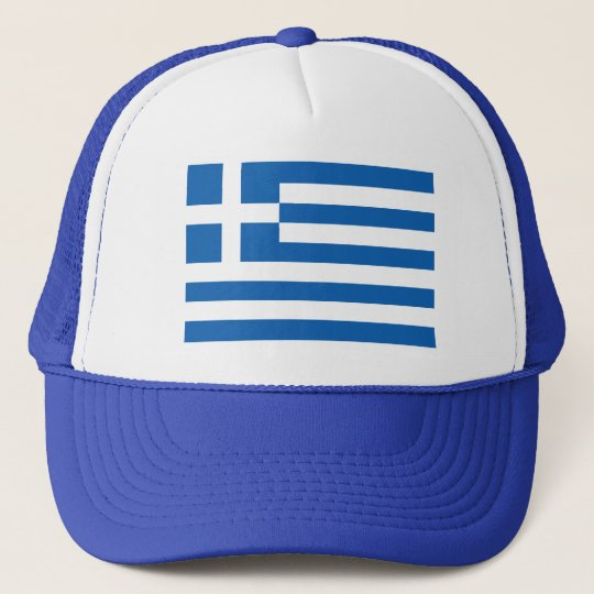 Greek flag trucker hat | Cap with Greece