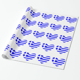 Greek Flag Wrapping Paper