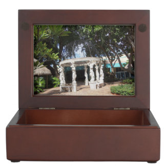 GREEK GARDEN KEEPSAKE GIFT BOX KEEPSAKE BOX