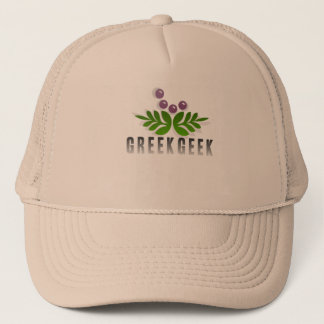 Greek Geek Trucker Hat