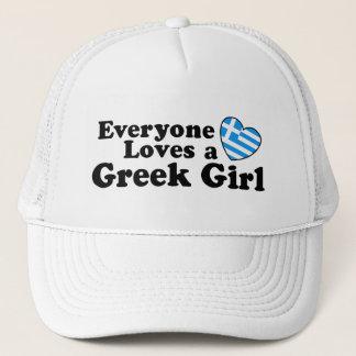 Greek Girl Trucker Hat