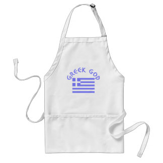 Greek God & Flag Standard Apron