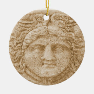 Greek God HERMES Christmas Ornament