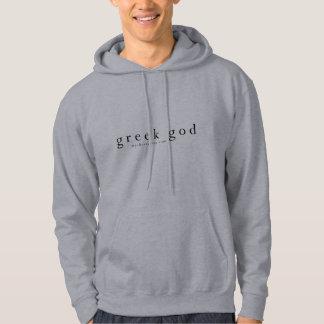 Greek god hoodie