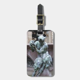 Greek God Pan Luggage Tag