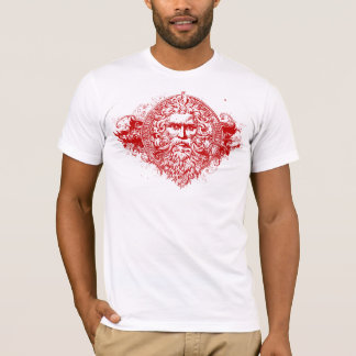 Greek God Red T-Shirt