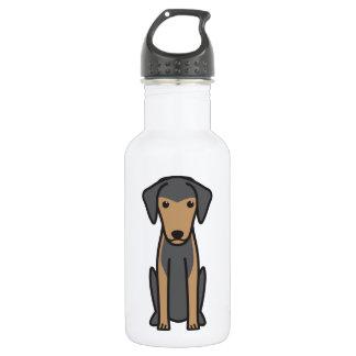 Greek Harehound Dog Cartoon 532 Ml Water Bottle