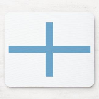 Greek Independence Flag (1821 Kolokotronis) Mouse Pad