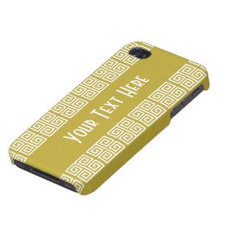 Greek-Inspired custom cases iPhone 4 Case