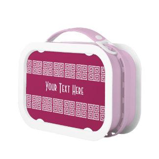 Greek-Inspired custom lunch box