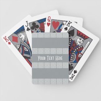 Greek-Inspired custom playing cards