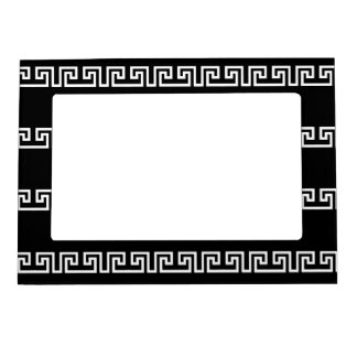 Greek-Inspired picture frame, black Magnetic Frame