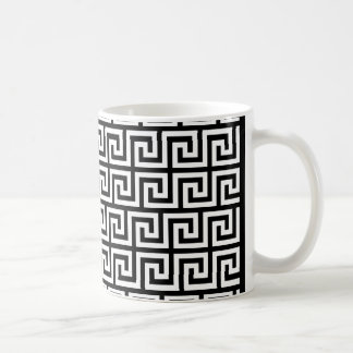 Greek Key Design Coffee Mug