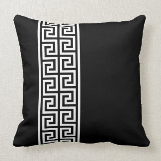 Greek Key Design Cushion