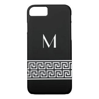 Greek Key Design Monogram iPhone 7 Case