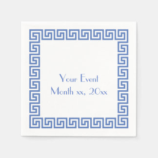Greek Key Design Paper Napkin