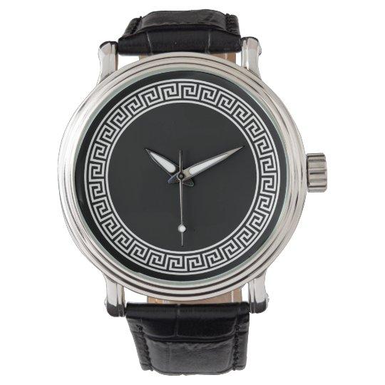 Greek Key Design Wristwatches