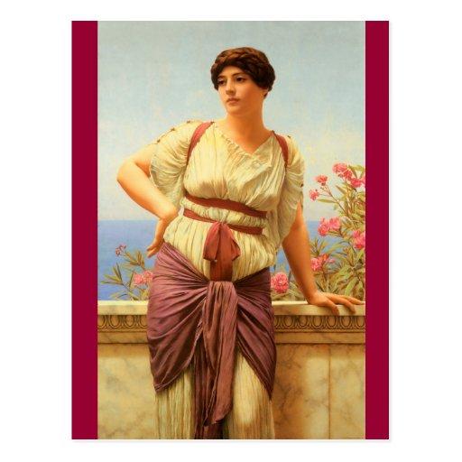 Greek Lady - Godward Post Cards