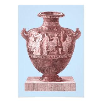 Greek Language, Classics Department Party 13 Cm X 18 Cm Invitation Card