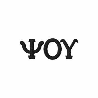 Greek Letter Alphabet Custom Design Polo Shirt