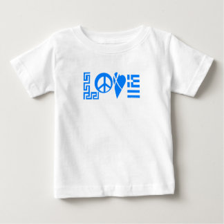 Greek Love Baby Baby T-Shirt