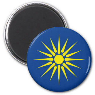 greek macedonia region flag greece country magnet