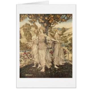 Greek Maidens Greeting Card