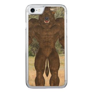 Greek Minotaur Carved iPhone 8/7 Case