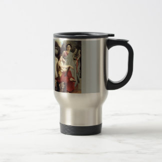 Greek Music Art Two Women painting Mug