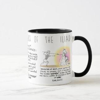 Greek Myth Comix Diomedes mug