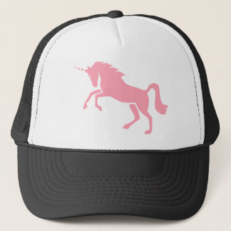 Greek Mythological Pink Unicorn Design Trucker Hat