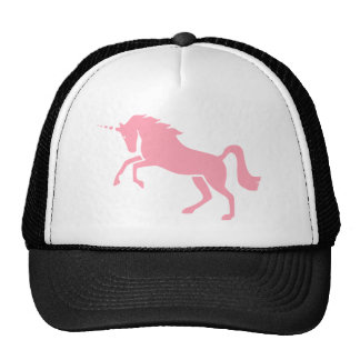 Greek Mythological Pink Unicorn Design Trucker Hat