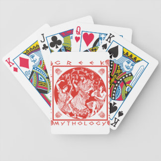 Greek Mythology - Red Bicycle Playing Cards