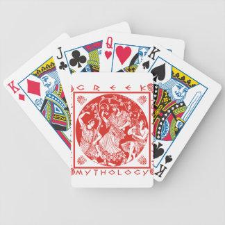 Greek Mythology - Red Poker Deck