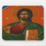 GREEK ORTHODOX ICON JESUS CHRIST MOUSEPAD