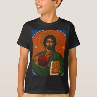 GREEK ORTHODOX ICON JESUS CHRIST T-Shirt