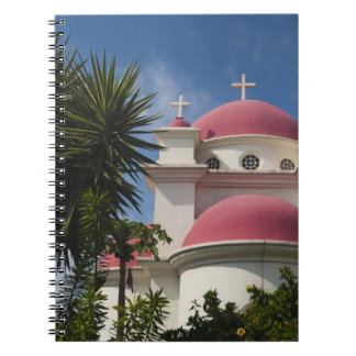 Greek Orthodox Monastery Spiral Notebook