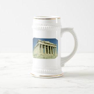 Greek Parthenon Mugs