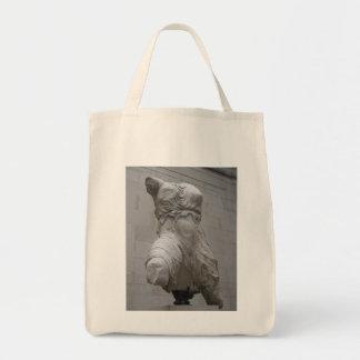 Greek Parthenon Statue Tote Bag