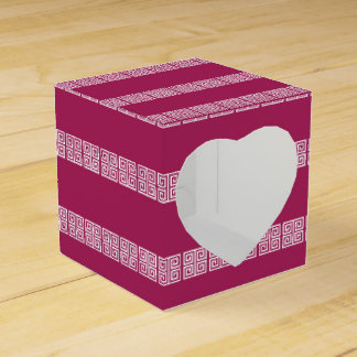 Greek Pattern custom favour boxes