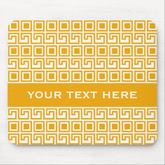 Greek Pattern custom mousepad